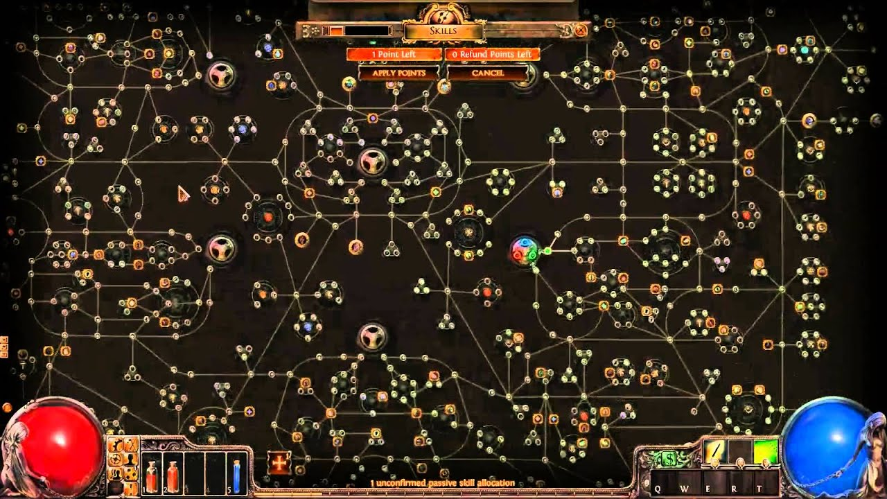 path of exile skill tree guide ranger