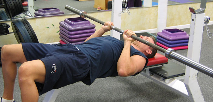 guided bench press bar weight