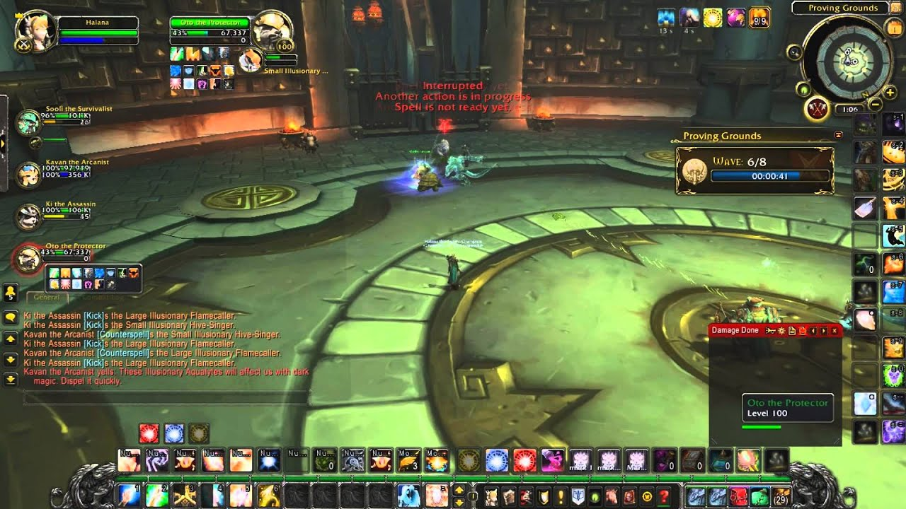 holy priest proving grounds guide