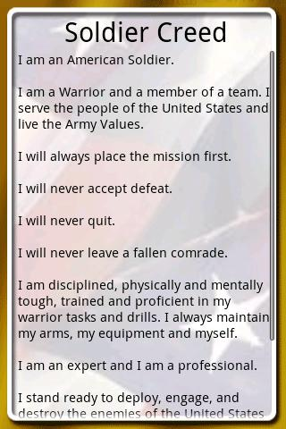 nco creed army study guide
