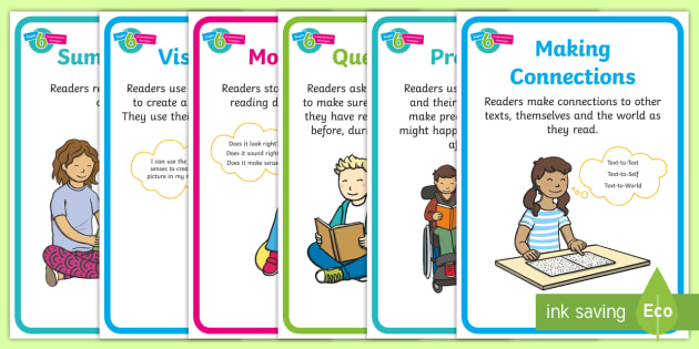year one guided reading super six comprehension